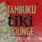 Tambuku Tiki Lounge sign, Arcadia Bell series