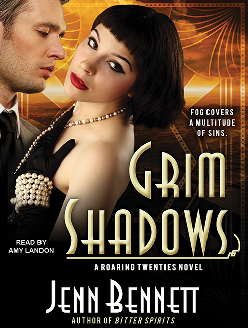 Audiobook cover for GRIM SHADOWS (Tantor Audio/Audible)