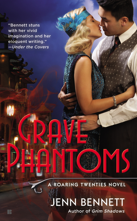 Grave Phantoms cover Jenn Bennett Roaring Twenties 20s 20's