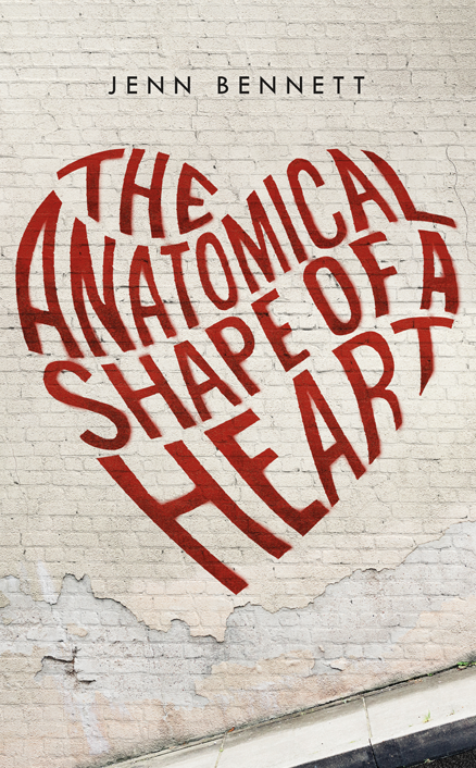 THE ANATOMICAL SHAPE OF A HEART JENN BENNETT YOUNG ADULT NIGHT OWLS